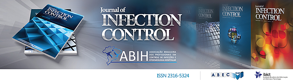 Um periódico da Associação Brasileira dos Profissionais em Controle de Infecções e Epidemiologia Hospitalar.
